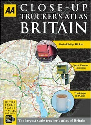 AA Close-up Truckers Atlas Britain (AA Atlases) by AA Publishing Spiral bound