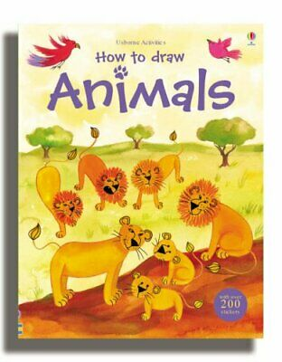 How to Draw Animals (Usborne Activities) by Louie Stowell Paperback Book The