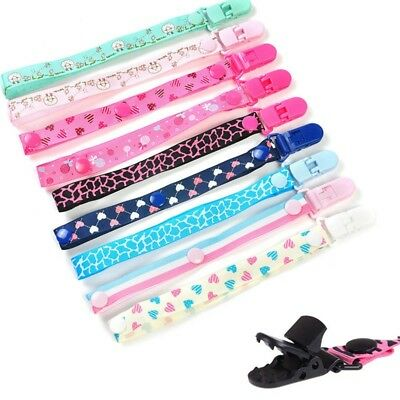 Baby Anti-lost Pacifier Clip Holder Dummy Pacifier Soother Nipple Strap Chain