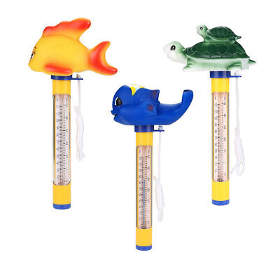 Cute Animal Floating Pool Thermometer for Outdoor/Indoor Spa Swimming Pools