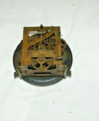 Antique KIENZLE Mantel/Wall Clock Movement & Face, Spares/Repair