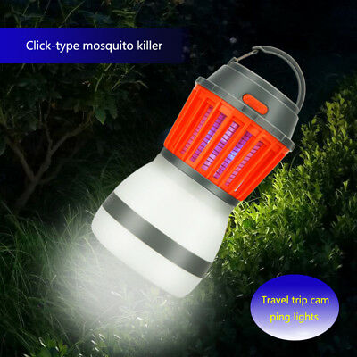 Electric USB Automatic LED Flycatcher Fly Trap Mosquito Reject Control Catcher