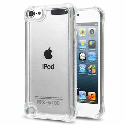 For Apple iPod Touch 5th Gen/6th Gen Clear TPU Rubber Candy Skin Case