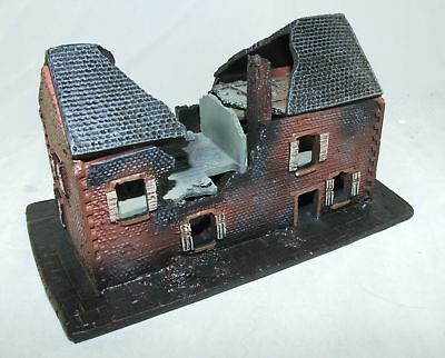 CONFLIX by Bachmann 6502 Haus Ruine Diorama 154 x 70 mm Wargames 15 mm