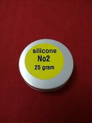 "25g PURE SILICONE GREASE FOR BRAKE CALIPERS ""O"" RINGS AND SEALS MICRO TIN."