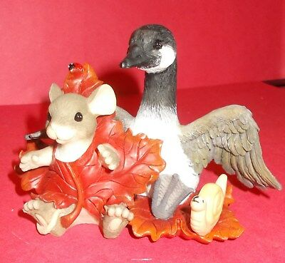 """Charming Tails """"take Friendship Under Your Wing"""" -  Canadian Ltd Edition"""