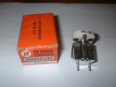 NOS Hammarlund  APC-100 Air Padding Condenser for Vintage Radio BOX#11