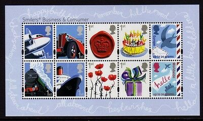 GB 2010 Smilers Miniature Sheet SG MS3024 MNH