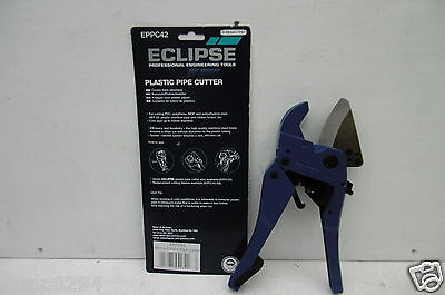 Eclipse Eppc42 Ratchet Action Plastic Pipe Cutter Up To 42Mm