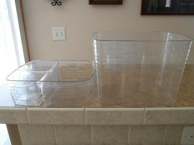 2 PIECE Plastic PROTECTOR for Longaberger Weekender Basket