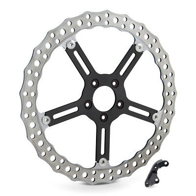 "Arlen Ness Big Brake Floating Front Rotor Kit for FXD 00-05 Left 15"" 02-990"