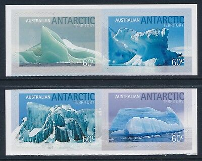 2011 Aat Icebergs Set Of 4 Fine Mint Mnh Self Adhesive Stamps