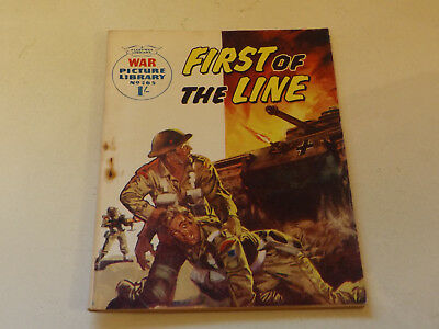 WAR PICTURE LIBRARY NO 165!,dated 1962!,GOOD for age,great 56!YEAR OLD issue.