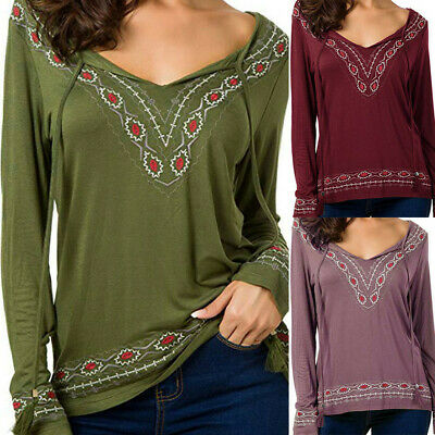 Fashion Women Long Sleeve Tunic Tops O-Neck Casual Loose Pleated T-Shirt Blouse