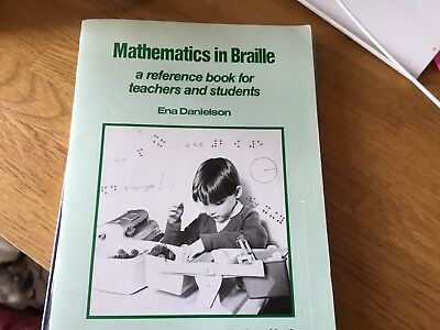 Mathematics In Braille- A Reference Book For Teachers And Students