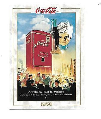 Coca Cola Collection (1993) 1950 # 55 WELCOME HOST TO WORKERS Haddon Sundblom