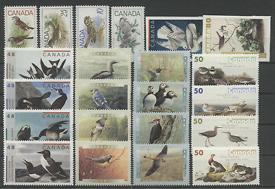 Vögel, Birds - Kanada - LOT ** MNH