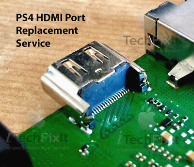 Sony PlayStation 4 PS4 HDMI Port Replacement Repair Service