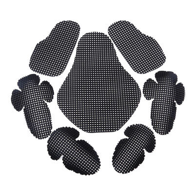Motorcycle Elbow Back Shoulder Protection Pads Body Protector Racing Armour