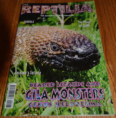 RARE Gila Monster & Beaded Lizard Article 22 Pgs OOP 2006 Largest Ever For Mag!