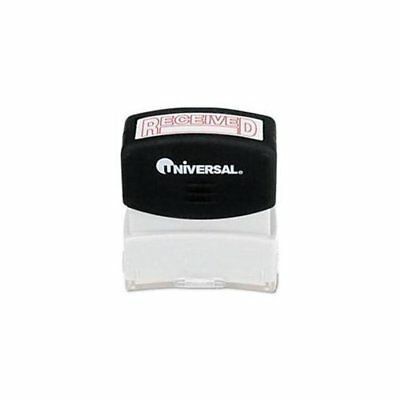 Universal Office Products 10067 Message Stamp, Received, Pre-inked/re-inkable,