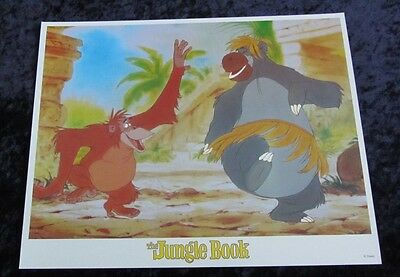 Walt Disney's The Jungle Book lobby card # 2 (90's Reissue Lobby Card)