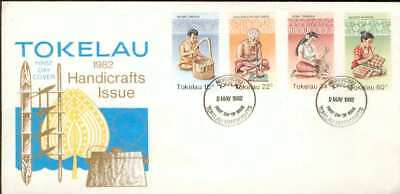 Tokelau Islands FDC handicraft handwork Handwerk bx97
