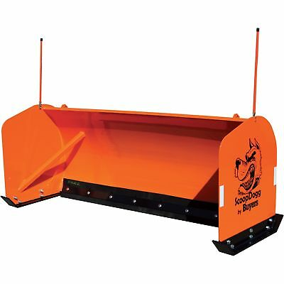 ScoopDogg Snow Pusher for Smaller Ag/Compact Tractors - 6Ft.L, Model# 2604006