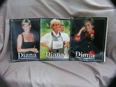 "Full Collection "" DIANA A Tribute To The People's Princess "" Parts 1 - 3. 1998."