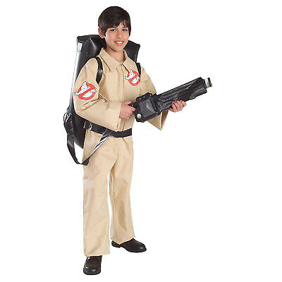 Ghostbusters Kids Child Costume with Inflatable Backpack | Rubies 884320