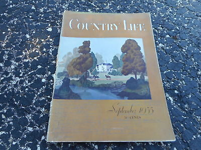 SEPT 1935 COUNTRY LIFE magazine - Great Ads