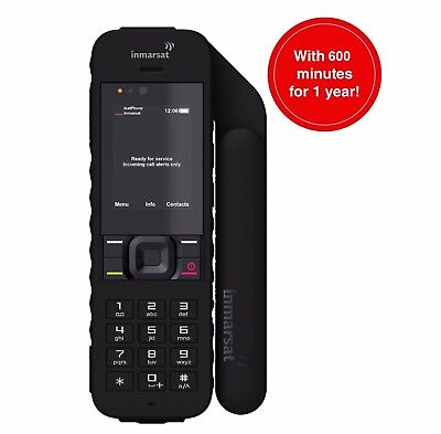 Inmarsat IsatPhone 2 Satellite Phone Kit w/ 600 minutes and 1 Year of service!