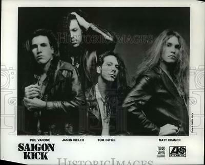 1992 Press Photo Saigon Kick-Phil Varone, Jason Bieler, Tom DeFile, Matt Kramer