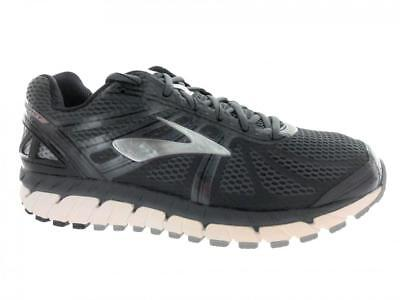 86ef391ba4f Men s Brooks Beast 16 Running Athletic Shoes Anthracite Black Silver Size 9  1 of 2FREE Shipping ...
