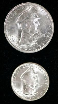 1947 S PHILIPPINES MACARTHER 2 COIN SET Item#M3077
