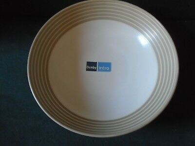 Denby Intro Stripes Sand serving bowl ( unused )