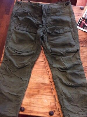 Military mens protective chemical suit pants large