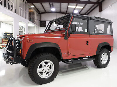 1995 Land Rover Defender 90 Convertible/Hardtop | Only 15,796 miles! 1995 Land Rover NAS (North American Spec) Defender 90 Convertible/Hardtop