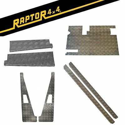 Raptor 4x4 Land Rover Defender 90 110 Assorted Chequer Plate Protection