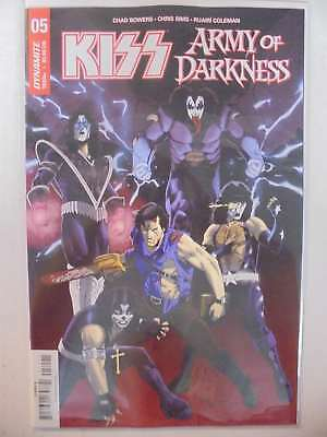 Kiss Army of Darkness #5 B Cover Dynamite NM Comics Book