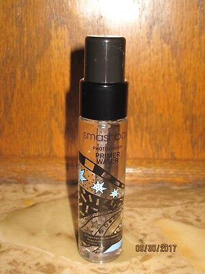 Smashbox Photo Finish Primer Water 1 fl oz Limited Edition Packaging NEW
