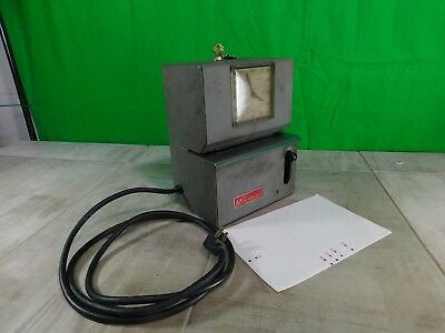 Lathem Time Recording Clock Manual Punch Working Condition w/Keys