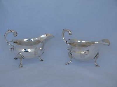 Pair of 1811 London Sterling Silver Sauce Boats