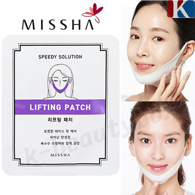 MISSHA Speedy Solution Face Lifting Patch Anti-Ageing Mask Korea Cosmetics