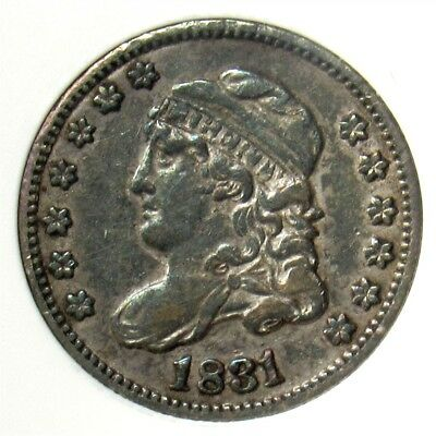 1831 Capped Bust Half Dime - ANACS VF30 - Certified/Graded Early Silver 5 Cents