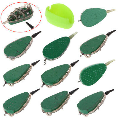 30g-100g Fishing Feeder With Mould Carp Lead Sinker Method Bait Lure Accessories