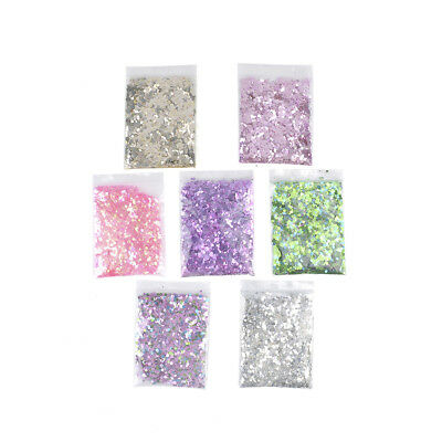 10G Festival Nail Face Tattoo Body Dance Mixed Holographic Glitter Flake