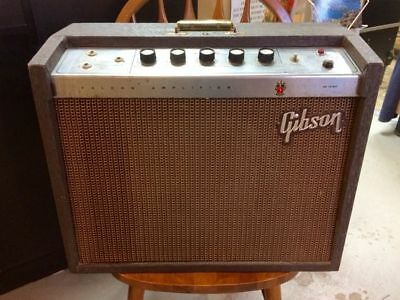 Vintage 1964 Gibson Falcon GA-19RVT Tube Amplifier Amp ORIGINAL GIBSON SPEAKER