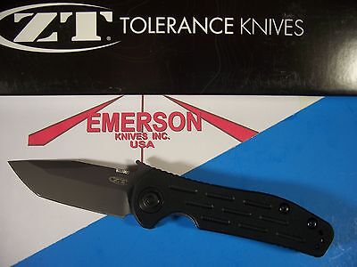 Zero Tolerance ZT Emerson DISCONTINUED CQC 0620 Instant Opening knife Tanto USA