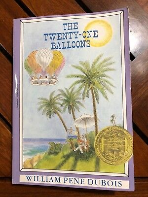 Newbery Library, Puffin: The Twenty-One Balloons by William Pène du Bois and Wil